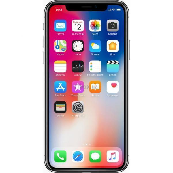 Apple iPhone X 256Gb Space Gray (MQAF2FS-A)