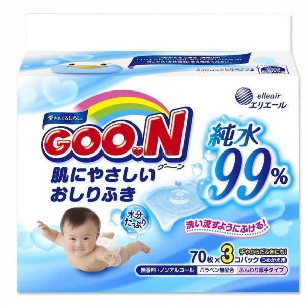GOO.N для чувствительной кожи 3 х 70 шт (733562)