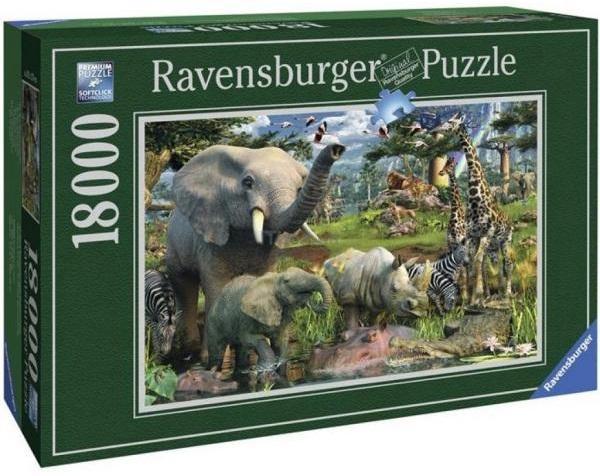 Пазл Ravensburger Водопой 18000 элементов (RSV-178230)