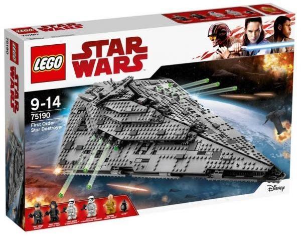 LEGO Star Wars Звездный Истребитель Першого ордена (75190)