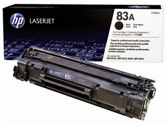 HP LJ 83A Black Pro M125nw-M127fn-M127fw (CF283A)