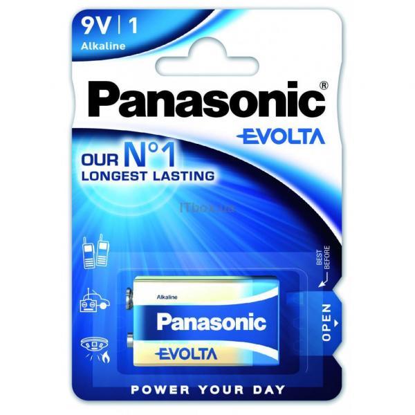 PANASONIC Крона 6LR61 Evolta  1 (6LR61EGE-1BP)